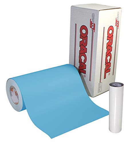 ORACAL Oramask 813 Low-Tack Paint Stencil Vinyl Roll Bundle (40ft x 1ft w/Transfer Paper)
