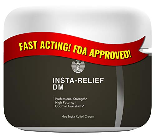 Insta-Relief DM Pain Relieving Cream | Soothing Topical Anaesthetic for Diabetic Peripheral Neuropathy and Nerve Support | Ultra Pain Reliever of Musc