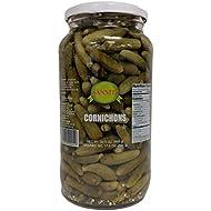 Sanniti Spanish Cornichons - 33.5 ounce