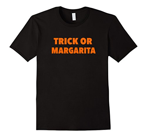 Men's Trick or Treat Margarita Funny Halloween Costume Tee Shirt T Medium (Margarita Man Costume)