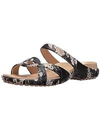 crocs Women's Meleen Twist Graphic Wedge Sandal