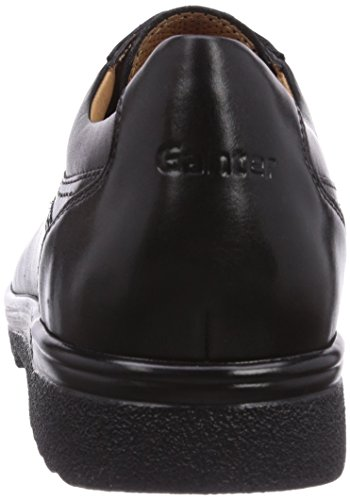 Ganter ERIC, Weite G - Zapatos con cordones para hombre Negro
