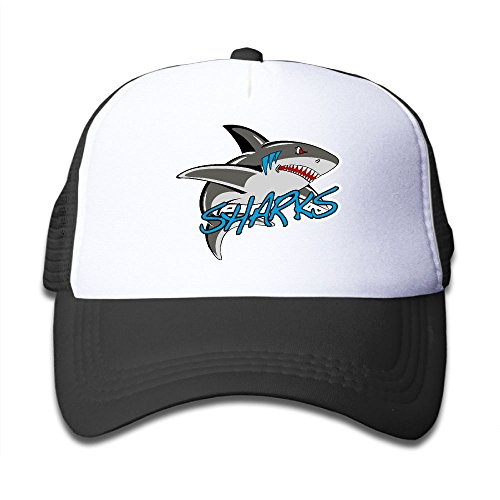 Elephant AN Great White Shark Mesh Baseball Cap
