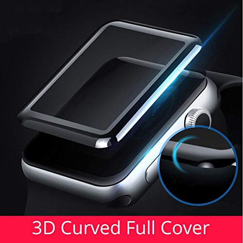 BATOP Apple Watch Screen Protector || 3D Anti-Shock Curved Full Coverage Tempered Glass