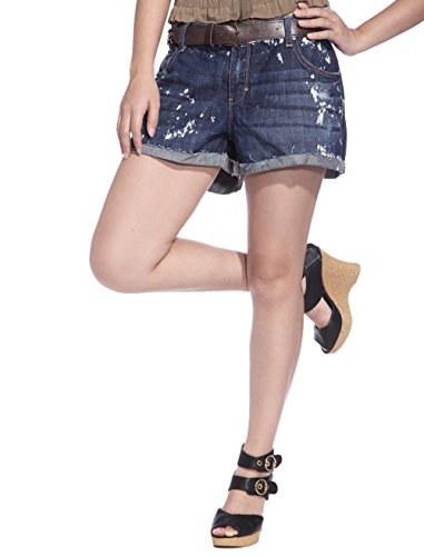 59f9443d38 Decree Women Young Girls Denim Classic Waisted Shorts Jeans Hotpants Acid  Wash at Amazon Women's Clothing store: