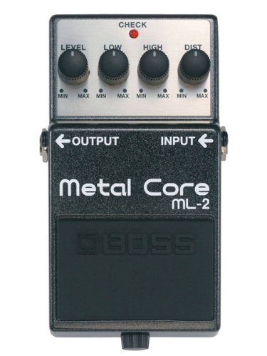 Boss ML 2 Metal Distortion Pedal