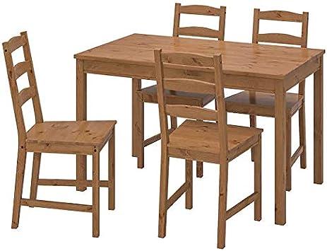 Amazon.com - Ikea JOKKMOKK table, Brown - Table & Chair Sets