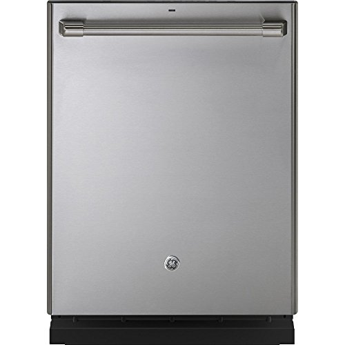 """GE CDT835SSJSS Cafe 24"""" Stainless Knife Fully Integrated Dishwasher - Energy Star"""