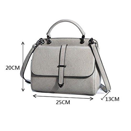 giallo moda elegante Ajlbt Tone Korean Messenger Ladies Tide One Portable Two Bag Shoulder ZqPZFf