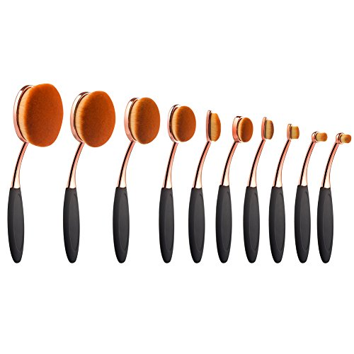 yoseng-foundation-oval-makeup-concealer-powder-brush-set-rose-golden