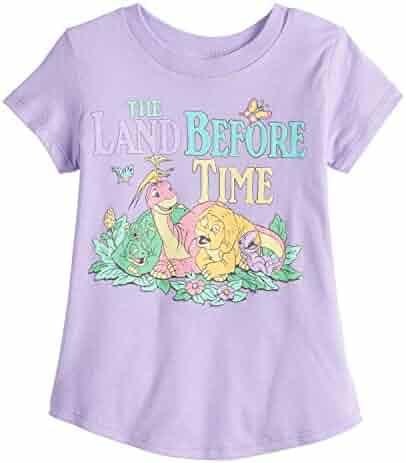 a04782e55 Jumping Beans Little Girls' Toddler 2T-5T Dino Friends Land Before Time Tee