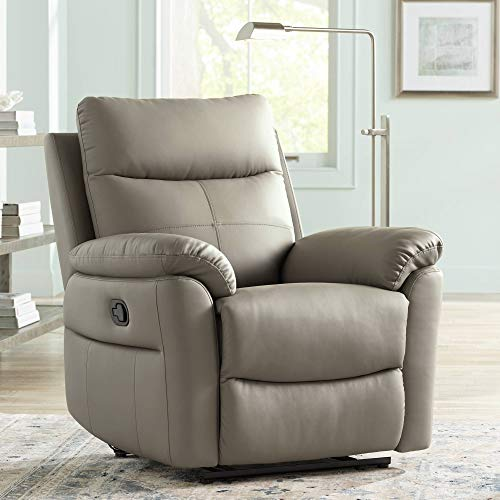 Recliner Leather Taupe - Newport Taupe Recliner Chair