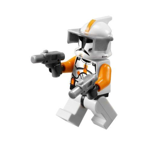 Star Wars Commander Cody (Clone Commander Cody ~Lego Star Wars Minifigure with Grey Visor and (2) Grey Blasters)