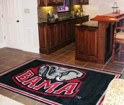 Crimson Rug Alabama Tide Football - Fan Mats University of Alabama Rug 4x6 Rug/44
