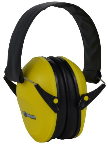 Boomstick Gun Accessories Folding Earmuff Noise Safety Hearing Protection, Yellow