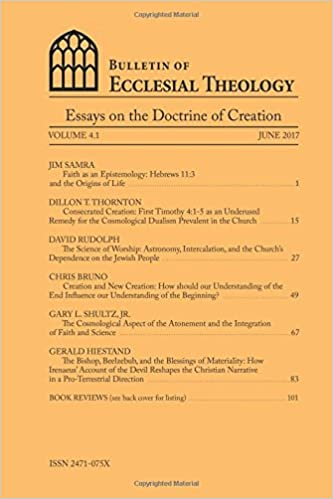 Autobiography Essays Bulletin Of Ecclesial Theology Essays On The Doctrine Of Creation Volume   Gerald Hiestand Jim Samra Dillon T Thornton David Rudolph Chris  Bruno  Night Essays also Personality Traits Essay Bulletin Of Ecclesial Theology Essays On The Doctrine Of Creation  Art Therapy Essay
