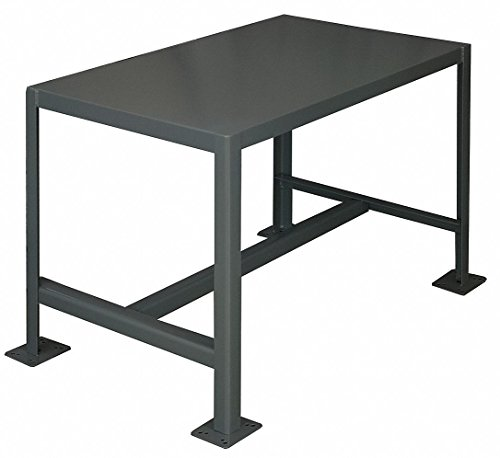 (Durham Steel Medium Duty Machine Table, MT244836-2K195,  1 Shelves,  2000 lbs Capacity,  48