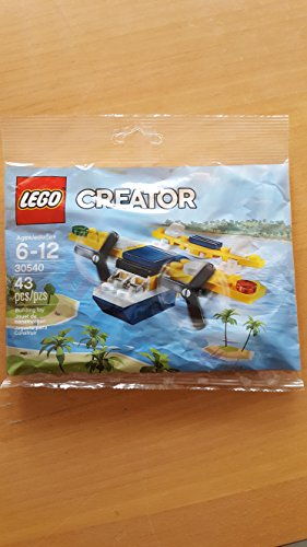 LEGO Creator Yellow Flyer Airplane (30540) 43 Piece Polybag Set (Yellow Airplane Lego)