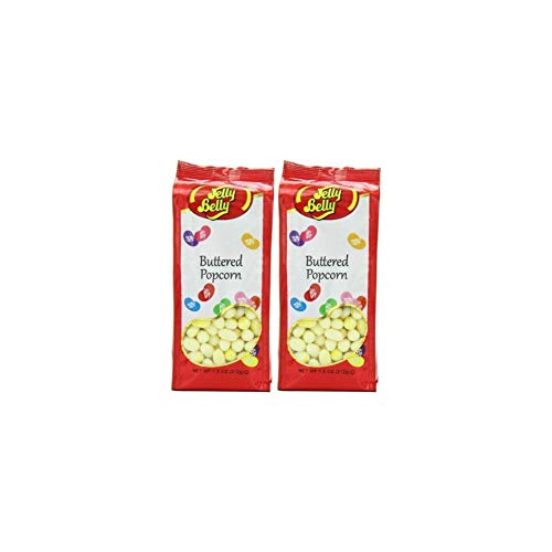 Jelly Belly Gift Bag, Buttered Popcorn (Pack of 2) ()