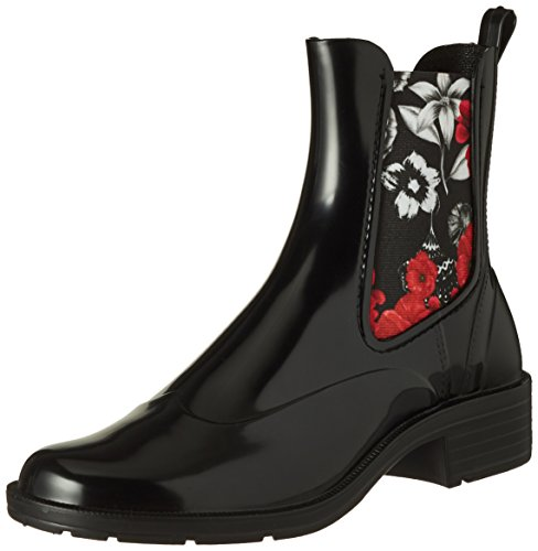 amp;Red Boot Rain Mid Bottes Desigual Femme Chelsea Shoes BN q6XCqAw
