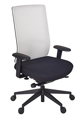 Regency 5555WHSM Patriot Swivel Chair, White/Storm