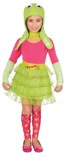The Muppets Movie Kermit The Frog Girl's Tutu Dress Up Box Set]()