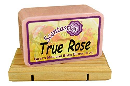 Scentastics Goat's Milk and Shea Butter True Rose Soap (8 oz. bar)