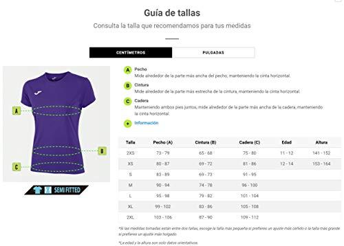 Joma-Combi-Woman-MC-Camiseta-Deportiva-para-Mujer-de-Manga-Corta-y-Cuello-Redondo