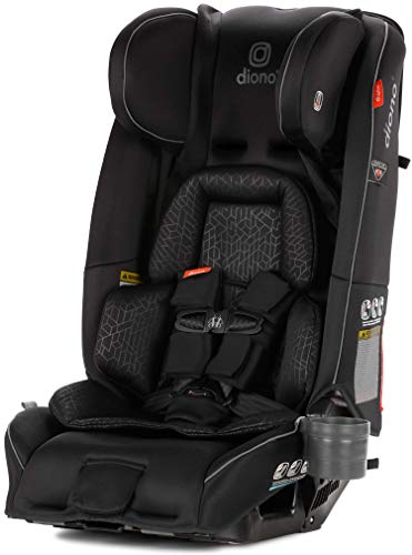 Diono Radian 3RXT All-In-One Convertible Car Seat, From Birth to 54 kg (120 lbs), Black
