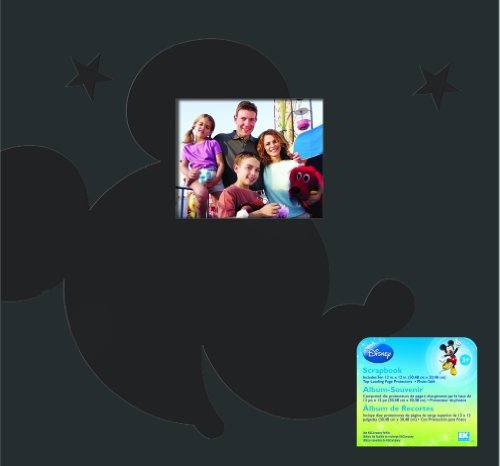 EK Success Brands Disney Scrapbook, Mickey Family