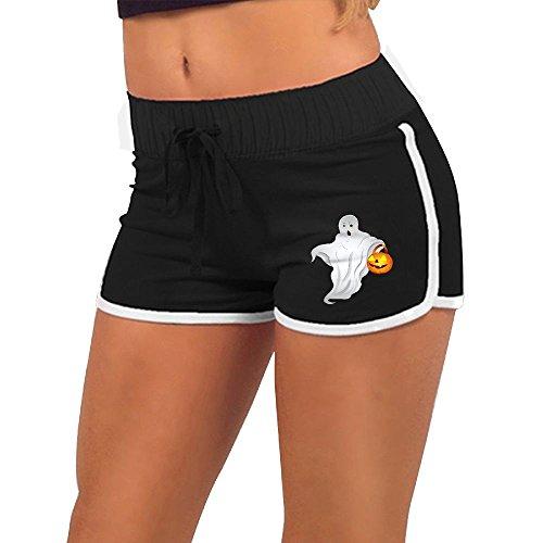 Happy Halloween NiuNiu Women Short Pants Low Waist Yoga Shorts Sports Shorts Outwork Sports Shorts