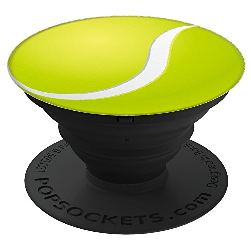 Fuzewear Tennis Ball PopSockets Stand for Smartphones and Tablets by Fuzewear