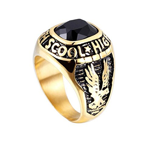 Gold Class Ring - 5