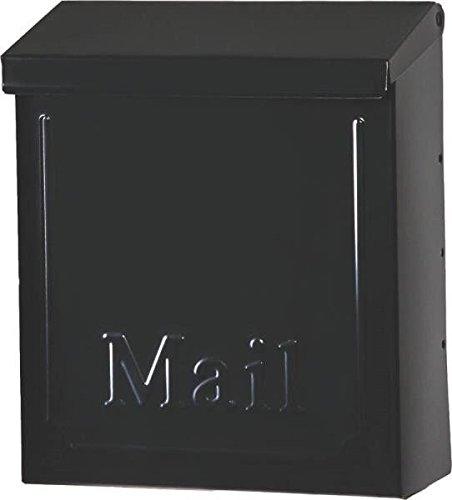 New Solar Thvkb001 Locking Townhouse Wall Mount Black Mailbox Sale Usa 7277478