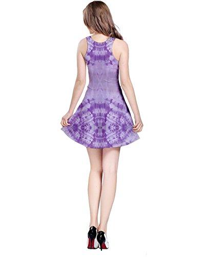 CowCow -  Vestito  - Donna Purple Tiedye XXXXX-Large