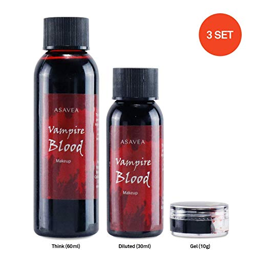 Vampire Blood Halloween Costume Makeup, Professional Quality for