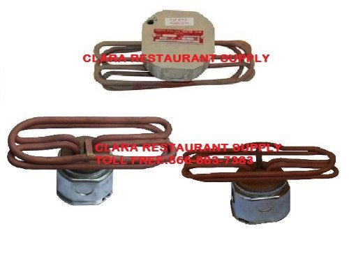 Commercial - Electric Water Immersion Heater Element (4000Watt / 208Volt / 1Phase) (Immersion Heater Element)