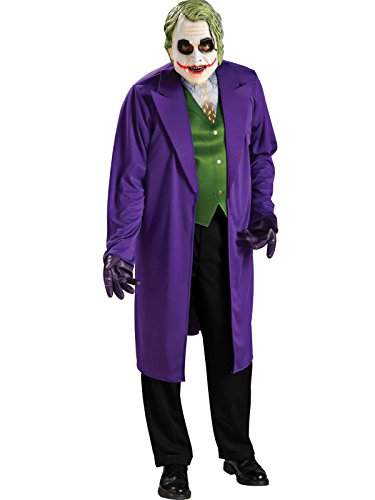 Rubie's Costume Batman The Dark Knight Joker Costume, Black/Purple, -