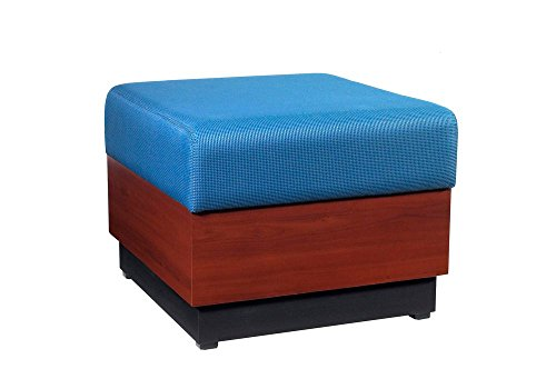 (Modular One Seat Fabric Bench Dimensions: 24
