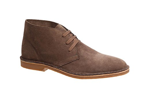 Shoeology Wooster Taupe Chukka Boots Taupe