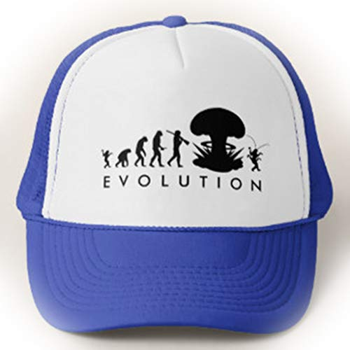 Cockroach Size Chart (Funny Evolution of Man Cockroach Funny Evolution Chart Unisex Adjustable Trucker Hat Baseball)
