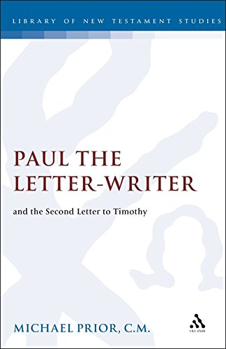 Paul the Letter-Writer and the Second Letter to Timothy (JSNT Supplement)