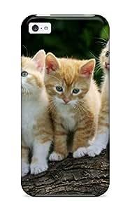 LJF phone case DPatrick Perfect Tpu Case For iphone 6 plus 5.5 inch/ Anti-scratch Protector Case (curious Kittens)