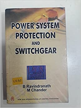 Power System Protection And Switchgear Book Pdf
