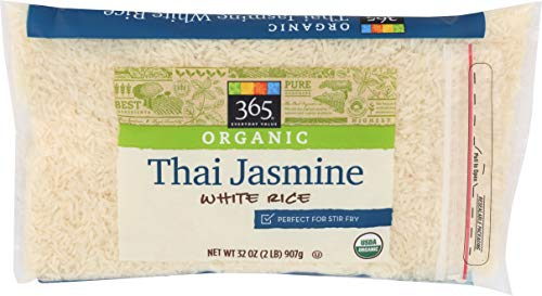 365 Everyday Value, Organic Thai Jasmine White Rice, 32 Ounce