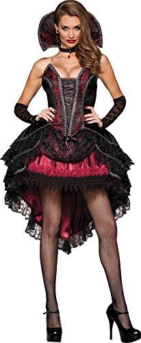 Vampire's Vixen Costume - X-Small - Dress Size 0-2 ()