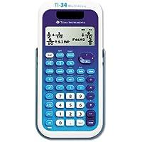 TI-34 MultiView Scientific Calculator, 16-Digit LCD, Sold as 1 Each