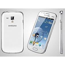 Samsung Galaxy S Duos 2 S7582L White Unlocked – International Version/Warranty – Smartphone GSM 850/900/1800/1900 MHz, 3G 850/2100 MHz