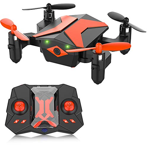 ATTOP Mini Drone – RC Helicopter, Drone for Kids & Beginners, RC Quadcopter with One Key Take Off, Headless Mode…