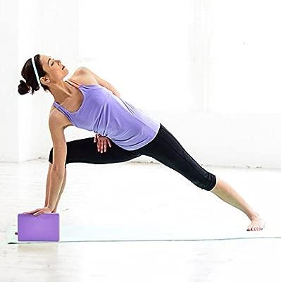 Honeysuck Yoga Bloque de Espuma para Ejercicios en casa ...